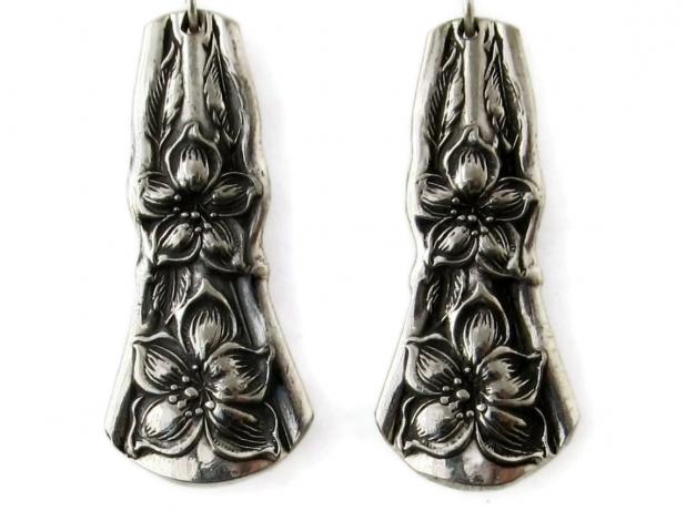 Orange Blossom Spoon Earrings