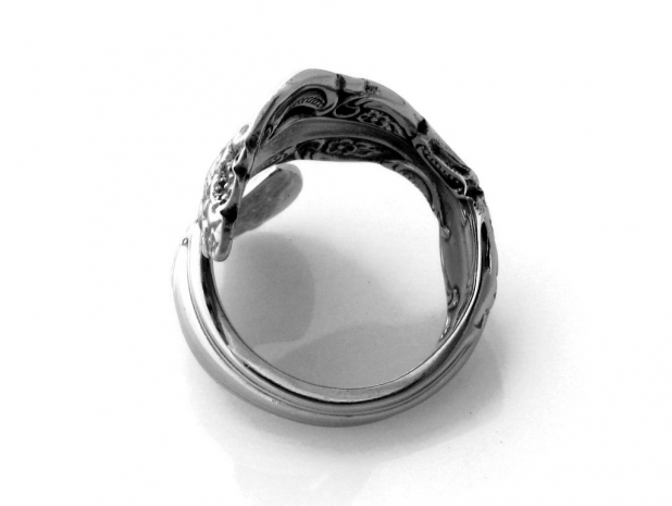 Michelangelo spoon ring top view