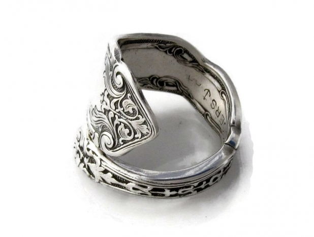 Alhambra Demitasse Spoon Ring
