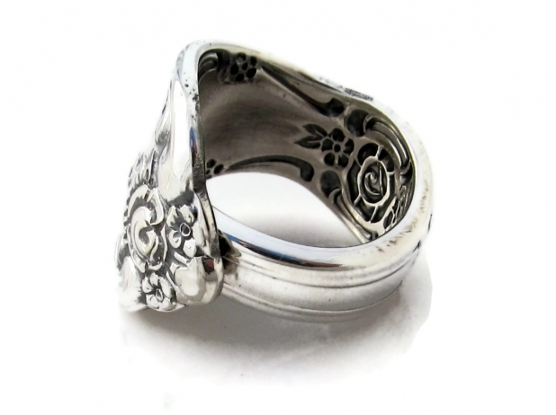 Vanessa Spoon Ring Side View 2