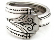 Spoon Ring Thor Pattern