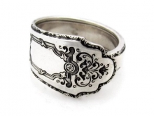 Spoon ring treasure pattern