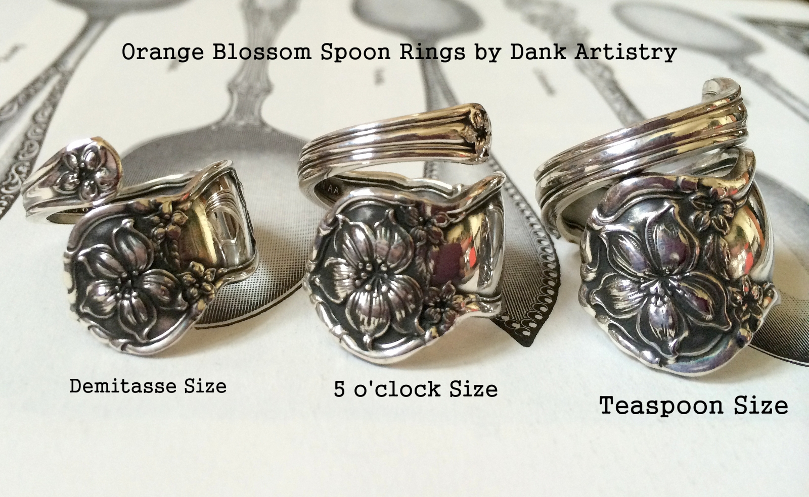 Orange blossom Sizes