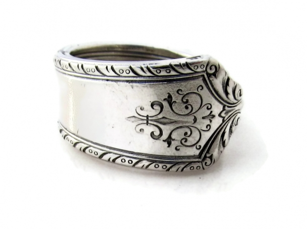 Pageant spoon Ring