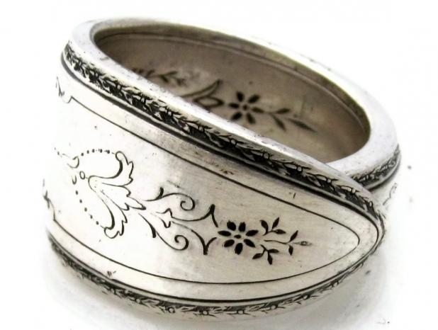 Spoon Ring Argosy Pattern