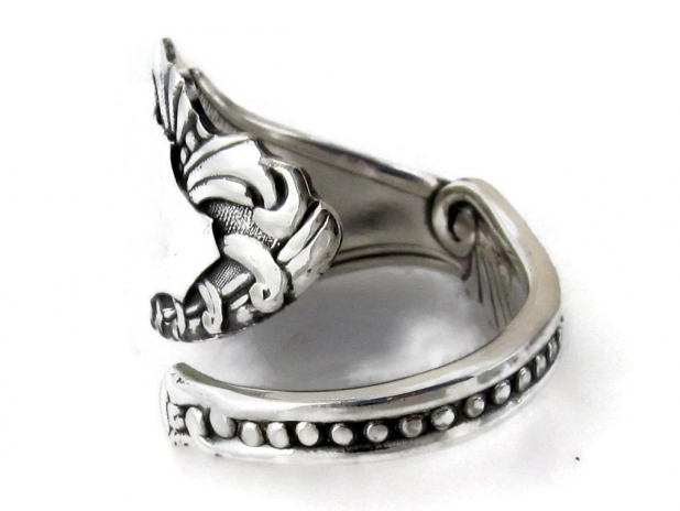 Spoon Ring Pequot Top View