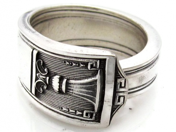 Spoon Ring Century pattern