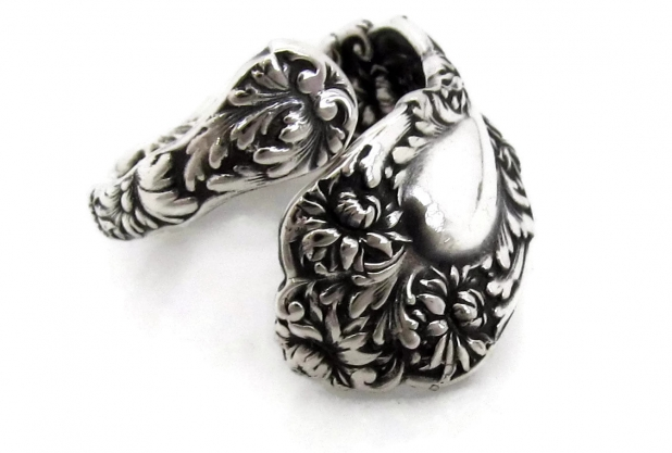 spoon ring imperial chrysanthemum