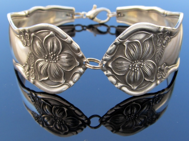 Spoon Bracelet Wide Orange Blossom
